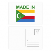 Made In Comoros Country Love Postcard Set Birthday Thanks Card Mailing Side 20pcs