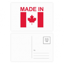 Made In Canada Country Love Postcard Set Birthday Thanks Card Mailing Side 20pcs