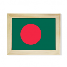 Bangladesh National Flag Asia Country Desktop Photo Frame Picture Art Decoration Painting 6x8 inch