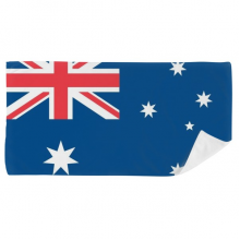 Australia National Flag Oceania Country Bath Towel Soft Washcloth Facecloth 35x70cm