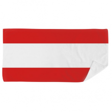Austria National Flag Europe Country Bath Towel Soft Washcloth Facecloth 35x70cm