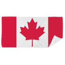 Canada National Flag North America Country Bath Towel Soft Washcloth Facecloth 35x70cm