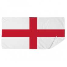 England National Flag Europe Country Bath Towel Soft Washcloth Facecloth 35x70cm