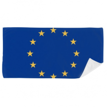 EU National Flag Europe Country Bath Towel Soft Washcloth Facecloth 35x70cm