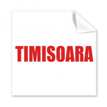 Timisoara Romania City Red Cleaning Cloth Phone Screen Glasses Cleaner 5pcs