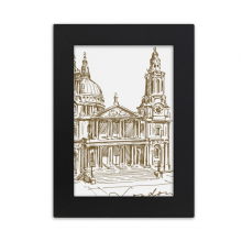 St.Paul's Cathedral England London Desktop Photo Frame Picture Display Art Painting Exhibit
