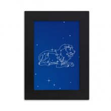 Star Universe Leo Constellation Pattern Desktop Photo Frame Picture Display Art Painting Exhibit