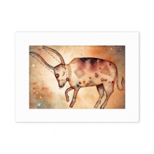 May April Taurus Constellation Zodiac Desktop Photo Frame White Picture Art Painting 5x7 inch