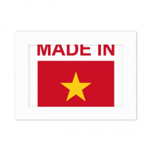 Made In Vietnam Country Love Desktop Photo Frame White Picture Art Painting 5x7 inch