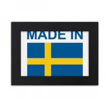 Made In Sweden Country Love Desktop Photo Frame Ornaments Picture Art Painting Gift