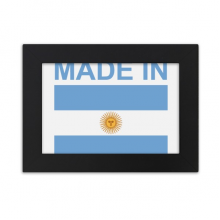 Made In Argentina Country Love Desktop Photo Frame Ornaments Picture Art Painting Gift