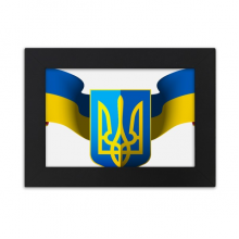 Ukraine National Emblem Country Desktop Photo Frame Ornaments Picture Art Painting Gift