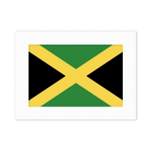 Jamaica National Flag North America Country Photo Mount Frame Picture Art Painting Desktop 5x7 inch