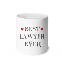 Best lawyer ever Quote Profession Money Box Saving Banks Ceramic Coin Case Kids Adults
