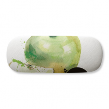 Apple Watercolour Fruit Tasty Health Glasses Case Eyeglasses Clam Shell Holder Storage Box
