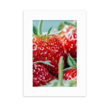 Fresh Strawberry Picture Nature Photograph Desktop Photo Frame Picture Display Decoration Art Painting
