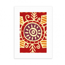 Red Eyes Mexico Totems Ancient Civilization Desktop Photo Frame Picture Display Decoration Art Painting