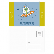Universe And Alien Travel Among Stars Friend Postcard Set Thanks Card Mailing Side 20pcs
