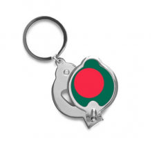 Bangladesh National Flag Asia Country Finger Nail Clippers Scissor Stainless Steel Cutter