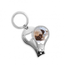Bulldog Pet Animal Lonely Picture Toenail Clipper Cutter