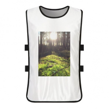 Forestry Science Nature Scenery White Training Vest Jerseys Shirt Cloth