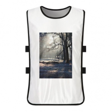 Green Forestry Science Nature Scenery White Training Vest Jerseys Shirt Cloth
