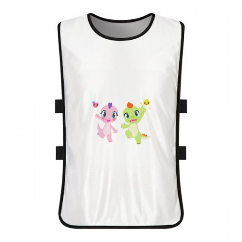 Dinosaur Kingdom Love You White Training Vest Jerseys Shirt Cloth