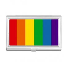 Rainbow Gay Lesbian Bisexuals LGBT Business Card Holder Case Wallet