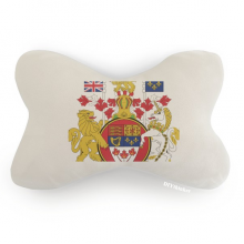 Canada National Emblem Country Car Trim Neck Decoration Pillow Headrest Cushion Pad