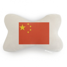 China National Flag Asia Country Car Trim Neck Decoration Pillow Headrest Cushion Pad
