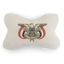 Yemen National Emblem Country Car Neck Pillow Headrest Support Cushion Pad