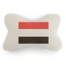 Yemen National Flag Asia Country Car Neck Pillow Headrest Support Cushion Pad