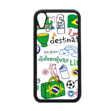 Adventure Life Brazil Journey Brazil iPhone XR iPhonecase Cover Apple Phone Case