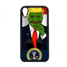 America President Sad Frog Great Image for iPhone XR iPhonecase Cover Apple Phone Case
