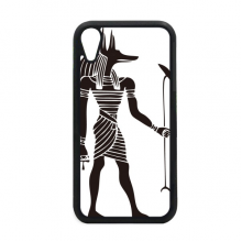 Ancient Egypt Anubis Totem Fresco for iPhone XR iPhonecase Cover Apple Phone Case