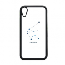 Aquarius Constellation Sign Zodiac iPhone XR iPhonecase Cover Apple Phone Case