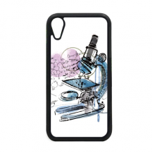 Chemistry Kowledge Microscope for iPhone XR iPhonecase Cover Apple Phone Case