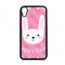 Happy Easter Festival Bunny Pattern iPhone XR iPhonecase Cover Apple Phone Case