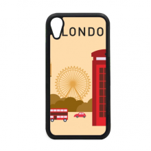I Love London UK Post Office Flag Mark iPhone XR iPhonecase Cover Apple Phone Case