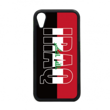 Iraq Country Flag Name iPhone XR iPhonecase Cover Apple Phone Case