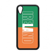 Ireland Country Flag Name iPhone XR iPhonecase Cover Apple Phone Case