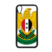 Syria Asia National Emblem iPhone XR iPhonecase Cover Apple Phone Case