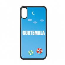Guatemala Country Name iPhone XS Max Cover Apple Phone Case Swimming Ring