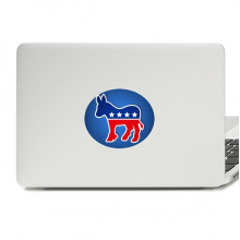 America Donkey Emblem Democratic Party Vinyl Skin Laptop Sticker Notebook Decal