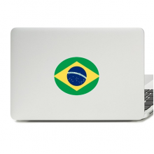 Brazil National Flag South America Country Vinyl Skin Laptop Sticker Notebook Decal