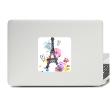 Eiffel Tower Heart-shaped France Decal Vinyl Paster Laptop Sticker PC Decoration