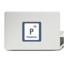 P Phosphorus Chemical Element chem Decal Vinyl Skin Laptop Sticker PC Decoration