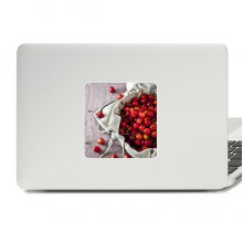Temperate Red Fruits Cherry Photograph Decal Vinyl Skin Laptop Sticker PC Decoration