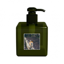 Japanese Dog Pet Animal Picture Soap Lotion Liquid Dispenser Bottle Pump Home