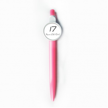 17 Years Old Girl Age Young Retractable Ballpoint Roller Ball Pen Blue